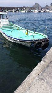 ヒリゾ浜 ヒリゾ渡し 船